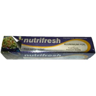 Nutrifresh Aluminium Foil (Keeps Food Home Fresh)
