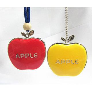 Combo Of Apple Shaped Hanging Air Freshener Perfume
