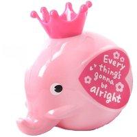 Elephant Shaped Money Box Piggy Coin Bank