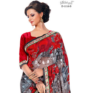 Vaishali georgette multy colour Printed Saree with Blouse
