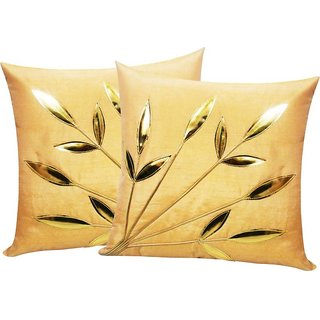 Angel Homes Set of 2 Designer Cushion Covers(16x16 Inches)A086