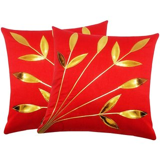 Angel Homes Set of 2 Designer Cushion Covers(16x16 Inches)A089