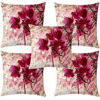 Angel Homes Set of 2 Designer Cushion Covers(16x16 Inches)C02