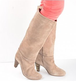 Girl on Fire Suede Leather Boots