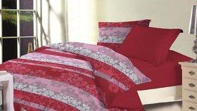 Blush Micro Peach Printed Single Comforter