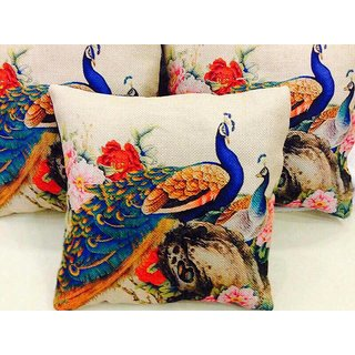 Angel Homes Set of 2 Designer Cushion Covers(16x16 Inches)A099