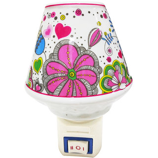 Cocodoes Ceramic Cup Electric Aroma Diffuser Night Lamp Light Oil Burner for Home Office Spa Air Fragran