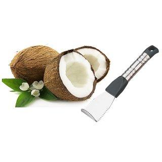 Stainless Steel Coconut Scraper And Coconut Peeler