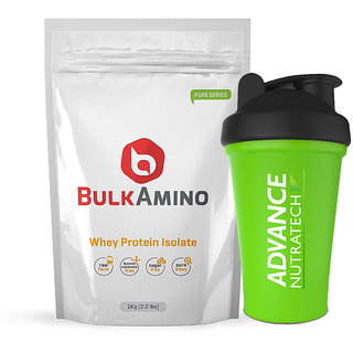 Advance Nutratech Bulkamino Whey Protein Isolate 1kg Un