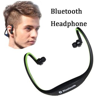 Oppo F3 Plus COMPATIBLE Bluetooth On-ear Sports Headset Headphone (with  Micro Sd Card Slot and FM Radio)By GO SHOPS