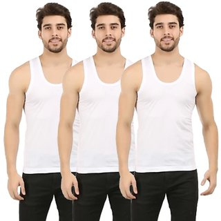 AFIYA Cotton pack of 3 for men (combo pack)white