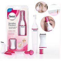 Sweet Sensitive Touch Electric Trimmer Eyebrows Underarms Hair Remover