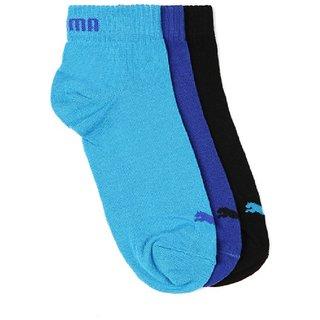 Puma Unisex Ankle Socks - Pack of 3