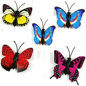 Plastic wall decor Butterfly