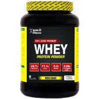 Healthvit Fitness 100 Ultra Premium Whey Protein - 1kg/
