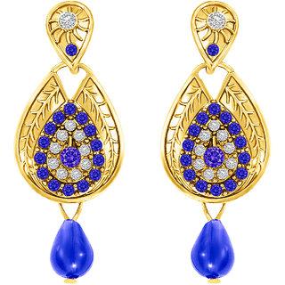 MJ Adorable Gold Plated Dangler Earring For Women