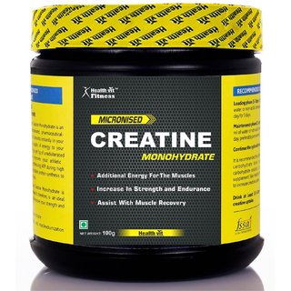 Healthvit Micronized Creatine Powder - 100 g (Unflavored)