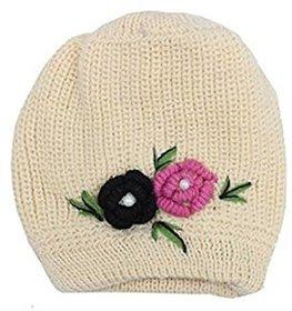 Tahiro Beige Woollen Cap - Pack Of 1