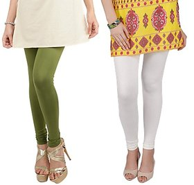 Bembee Multicolour Viscose Leggings - Pack of 2