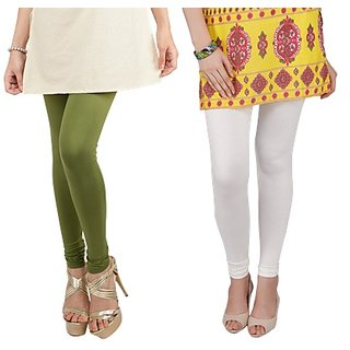 Bembee Multicolour Viscose Leggings - Pack of 2