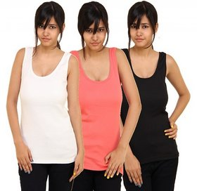 Phalin Multicolor Cotton Tank Camisole