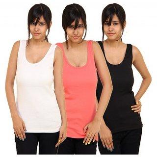 1bfba0fbb952f5 Buy Phalin Multicolor Cotton Tank Camisole Online - Get 64% Off