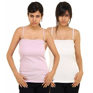 Boosah Multicolor Cotton Solid Camisole