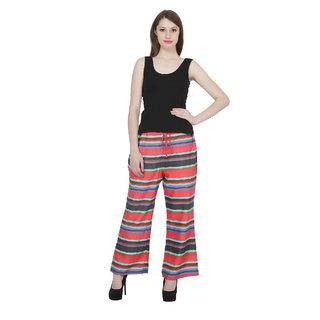 NIOMI  Polyester  Cotton Stylish Plazoo For Women / Girl