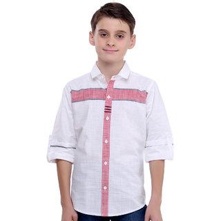 MashUp Linen Striper Shirt for Boys