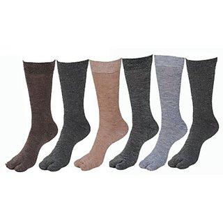 Womens Solid Mid-calf Length Socks