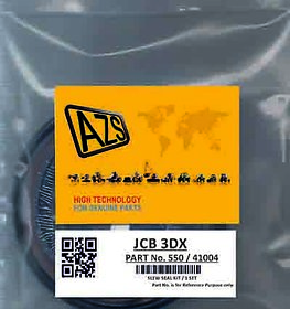 JCB 3D Seal Kit 550 / 41004 Replacement 550/41004, Our AZS-55041004, Seal Kit 550-41004