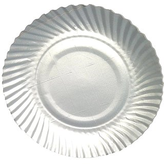 Marketvariations Serving Paper Plates Small 17x17 cm - Pack of 30