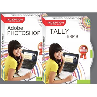 Learn ADOBE PHOTOSHOP + TALLY ERP 9 - 2 FULL COURSES