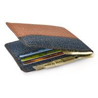 Unique Men's Blue Formal Denim Wallet