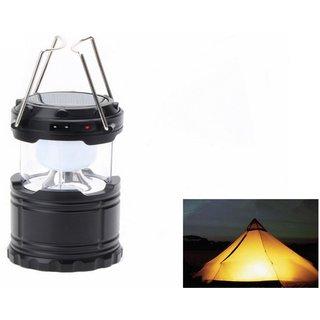 Solar Rechargeable 6LED Camping Lantern Light G-85 - 6LEDG85
