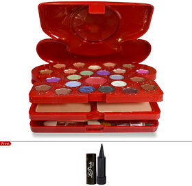 MARS FASHION COLOR MAKE-UP KIT WITH FREE LAPERLA KAJAL Worth Rs.125/