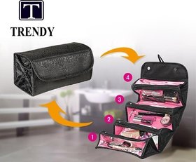 Black Roll N Go Travel Buddy Toiletry Bag