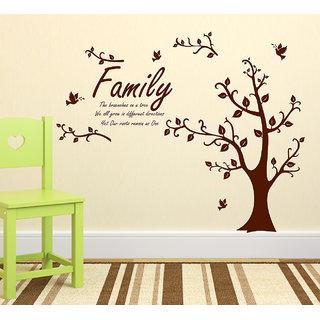 Wallstick  Family Tree'' wallsticker (Vinyl 100 cm x 90 cm)