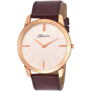 Timebre Men & Women Allegiant Slim Analog Watch