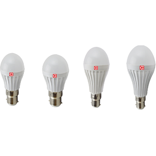 Alpha Pro B22 Cool Daylight LED Bulbs - Pack Of 4