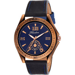Timebre Men Royal Turquoise Casual Analog Watch