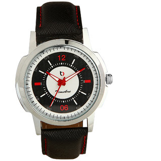 Timebre Men Ivory Black Casual Analog Watch