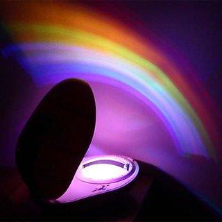 Tuzech Led Rainbow Night Lamp Decor ( Real Rainbow on Wall) ( Stress Reliever)