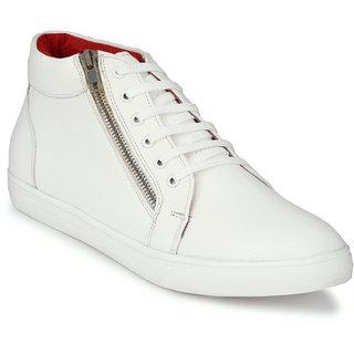 San Frissco Mens White Boots