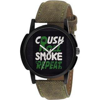 Timebre Quartz Analog Multi-Color Round Men's Watch