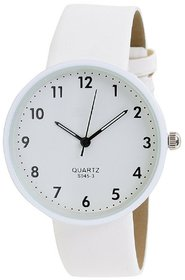 Orayan New White Colour White Dial Analogue Girls Watch