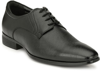 San Frissco Men's Black Formal Shoes