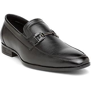 San Frissco Men's Black Formal Shoes