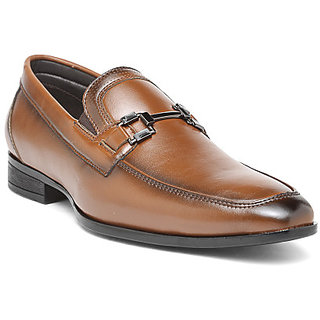 San Frissco Men's Tan Formal Shoes
