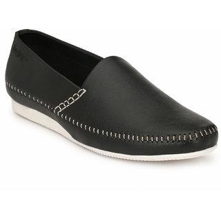 San Frissco Mens Black Loafer